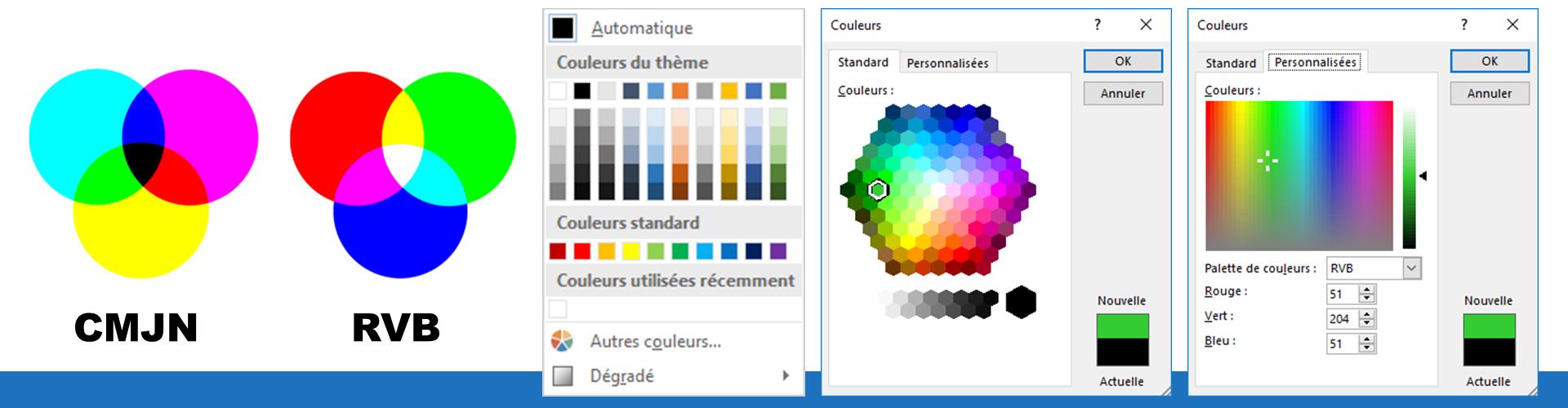 La couleur dans Office