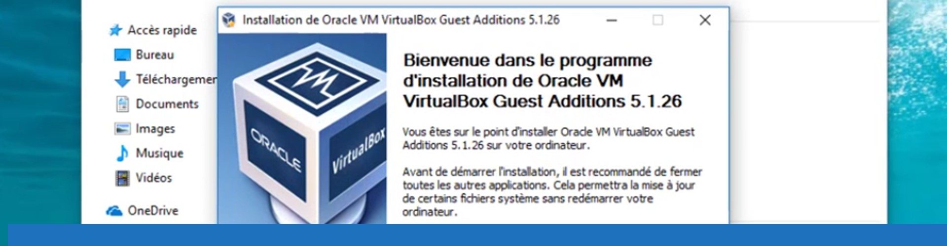 Installer les additions invité