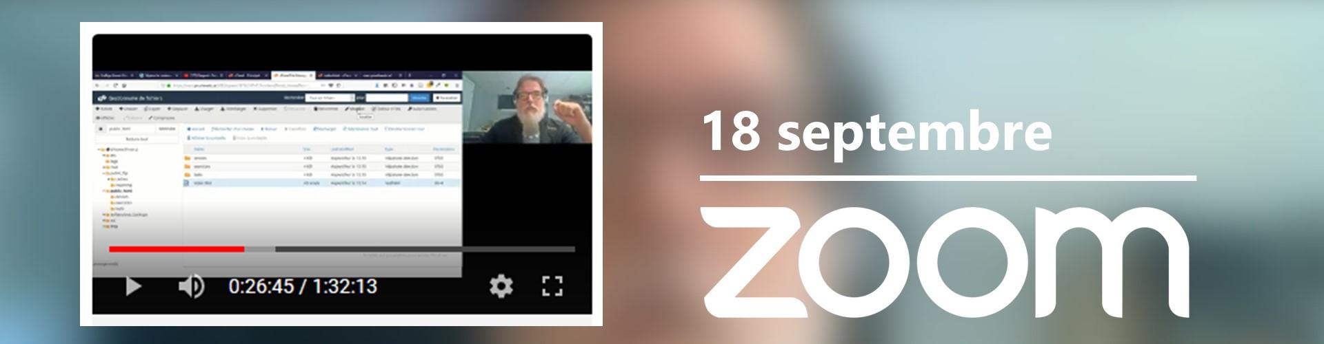 412-Z21 sur Zoom – Semaine 2